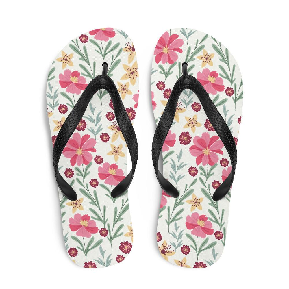 Light Petals Flip-Flops