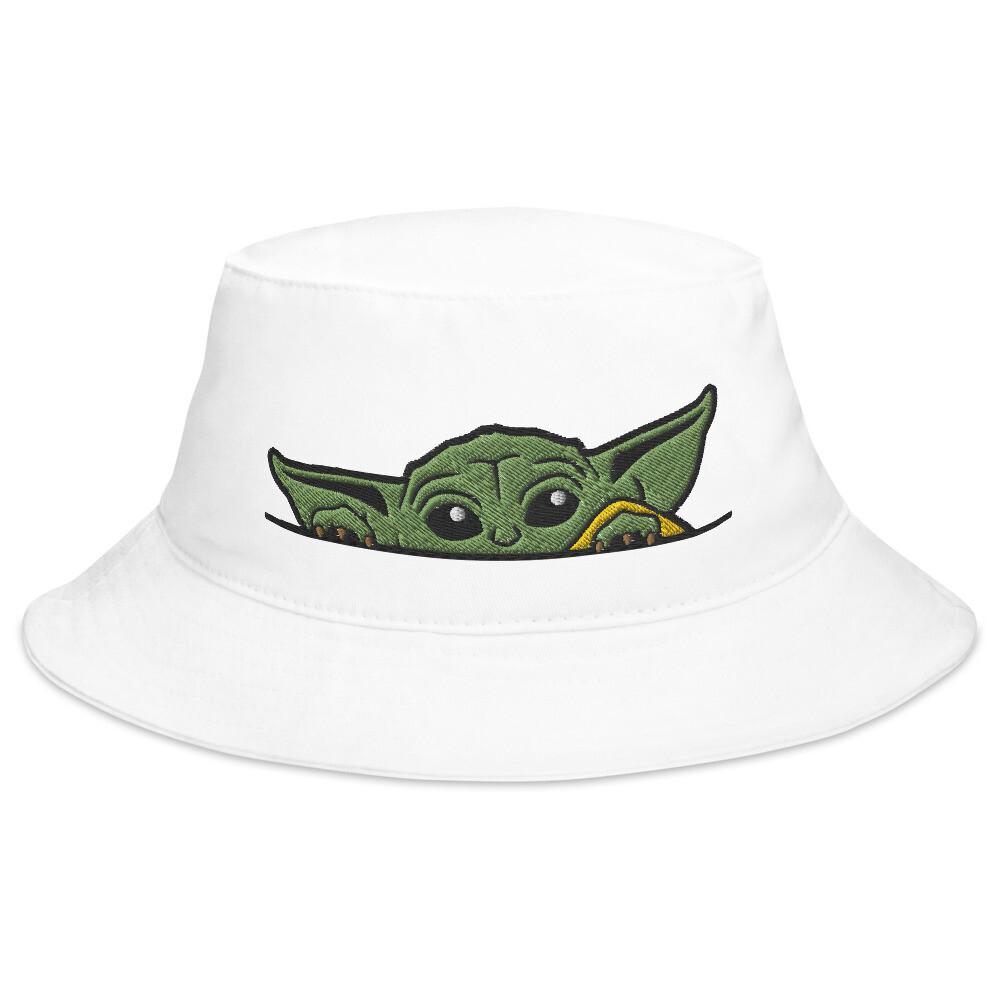 Baby Yoda Peeking Bucket Hat