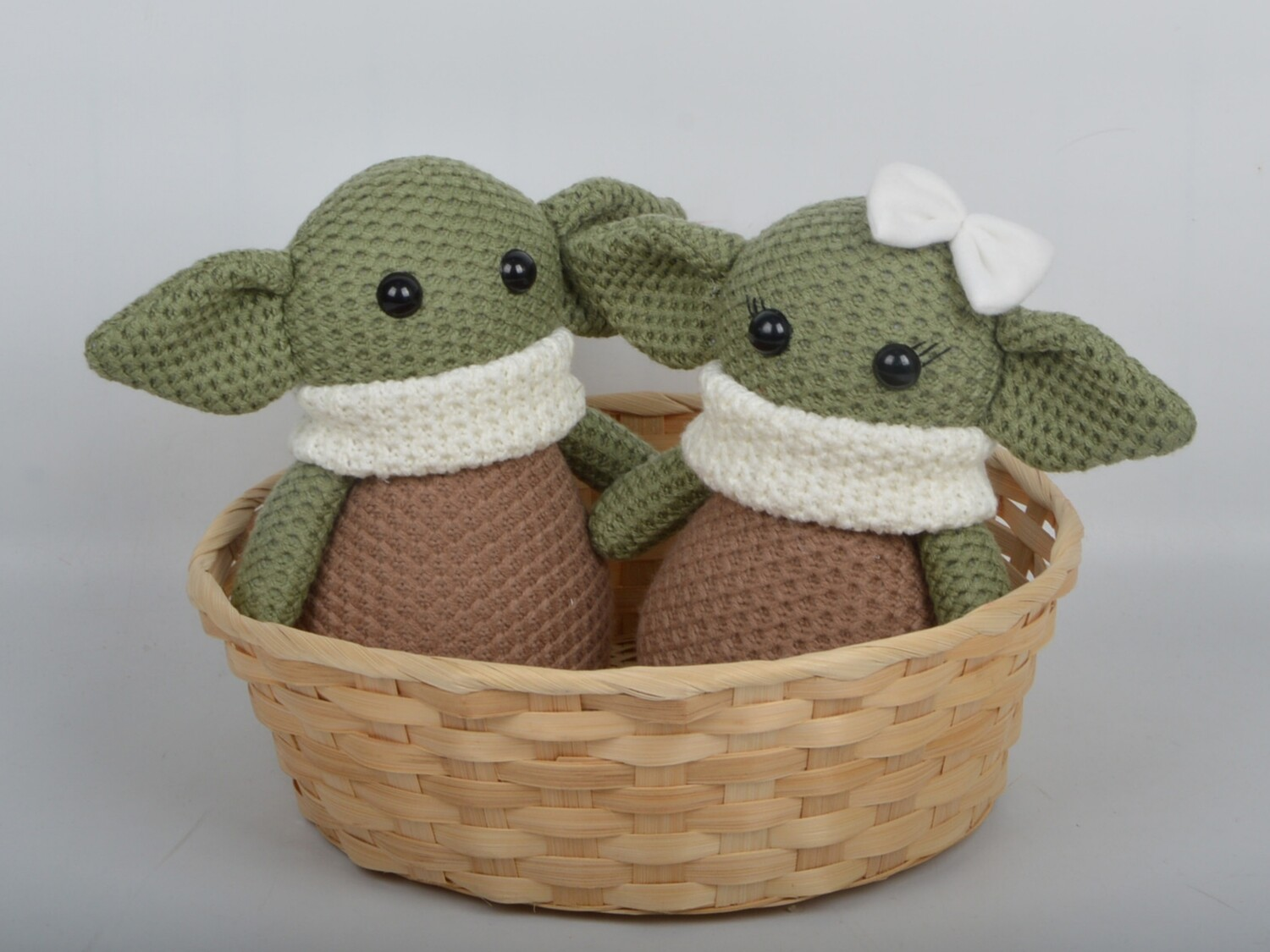 Baby Yoda Mr and Ms Adorable Grogu The Child Stuffed Decoration Dolls-AVAILABLE MAY 2021