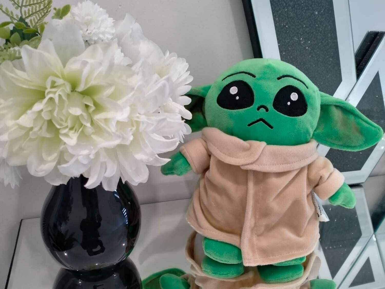 Baby Yoda Plush Collectable Figurines The Child Grogu