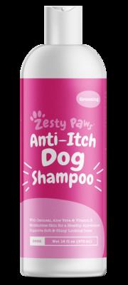 Dog Shampoo. Anti-Itch Dog Shampoo with Aloe Vera and Vitamin E