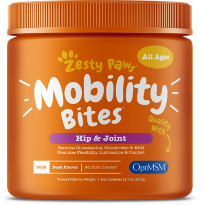Mobility Bites with Glucosamine, Chondroitin, & OptiMSM® for Dogs