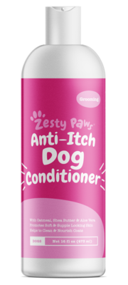 Dog Conditioner. Anti-Itch Dog Conditioner with Shea Butter and Aloe Vera