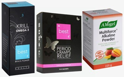 Period Cramps Relief Bundle