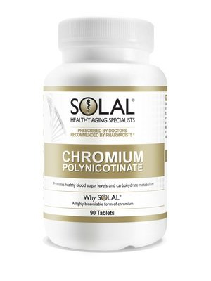 Solal Chromium Polynicotinate