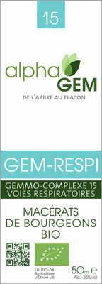 Complexe GC15 Voies respiratoires