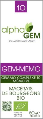 Complexe GC10 Mémoire