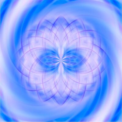 Mandala d'énergie (40x40 cm)
