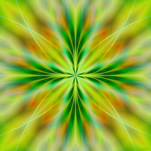 Mandala d'énergie (20x20 cm)