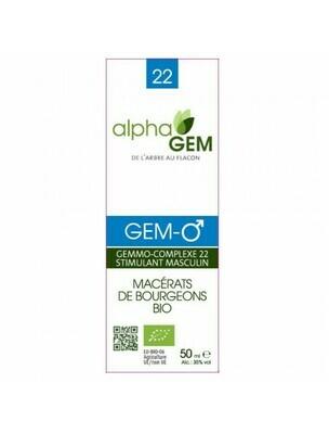 Complexe GC22 Stimulant masculin