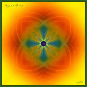 Mandala des Anges (40x40 cm)