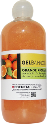 Gel douche Orange piquante