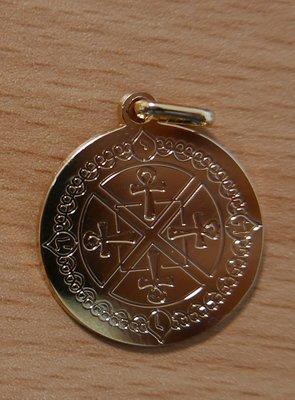 Médaille porte bonheur