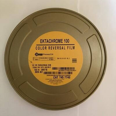 Kodak Ektachrome 16mm Colour Reversal 100D 400ft (122m) 7294