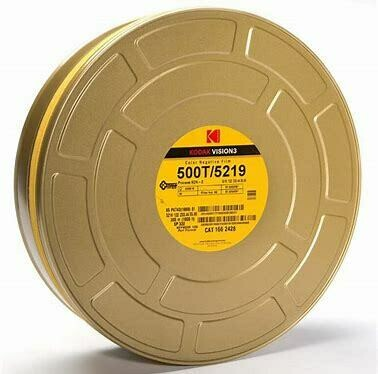 Kodak 65mm Vision3 500ft (152m) 500T/5219 Factory Sealed