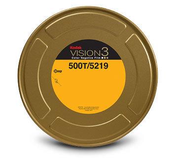 Kodak 35mm Vision3 400ft (122m) 500T/5219