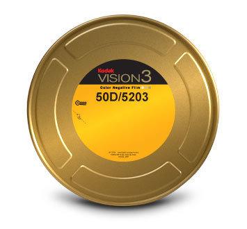 Kodak 35mm Vision3 400ft (122m) 50D/5203