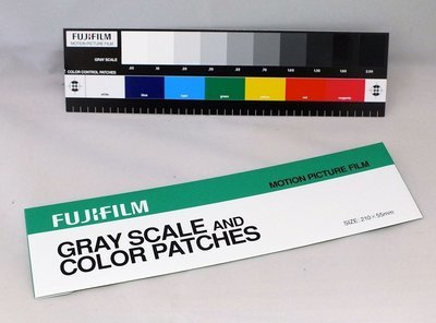 Fujifilm Grey Scale And Colour Patch