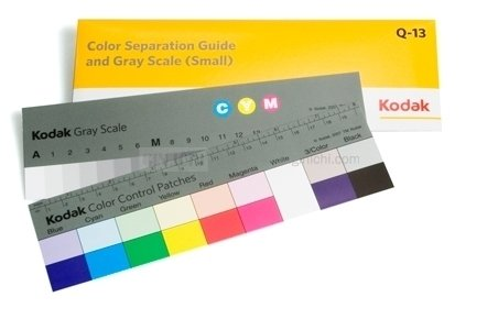 Kodak Q-13 Colour Separation Guide and Grey Scale (Small) 8""