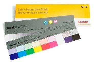 Kodak Q-13 Colour Separation Guide and Grey Scale (Small) 8