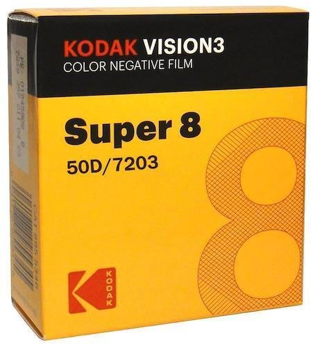 Kodak Vision3 Super 8 Colour Negative Film 50D/7203