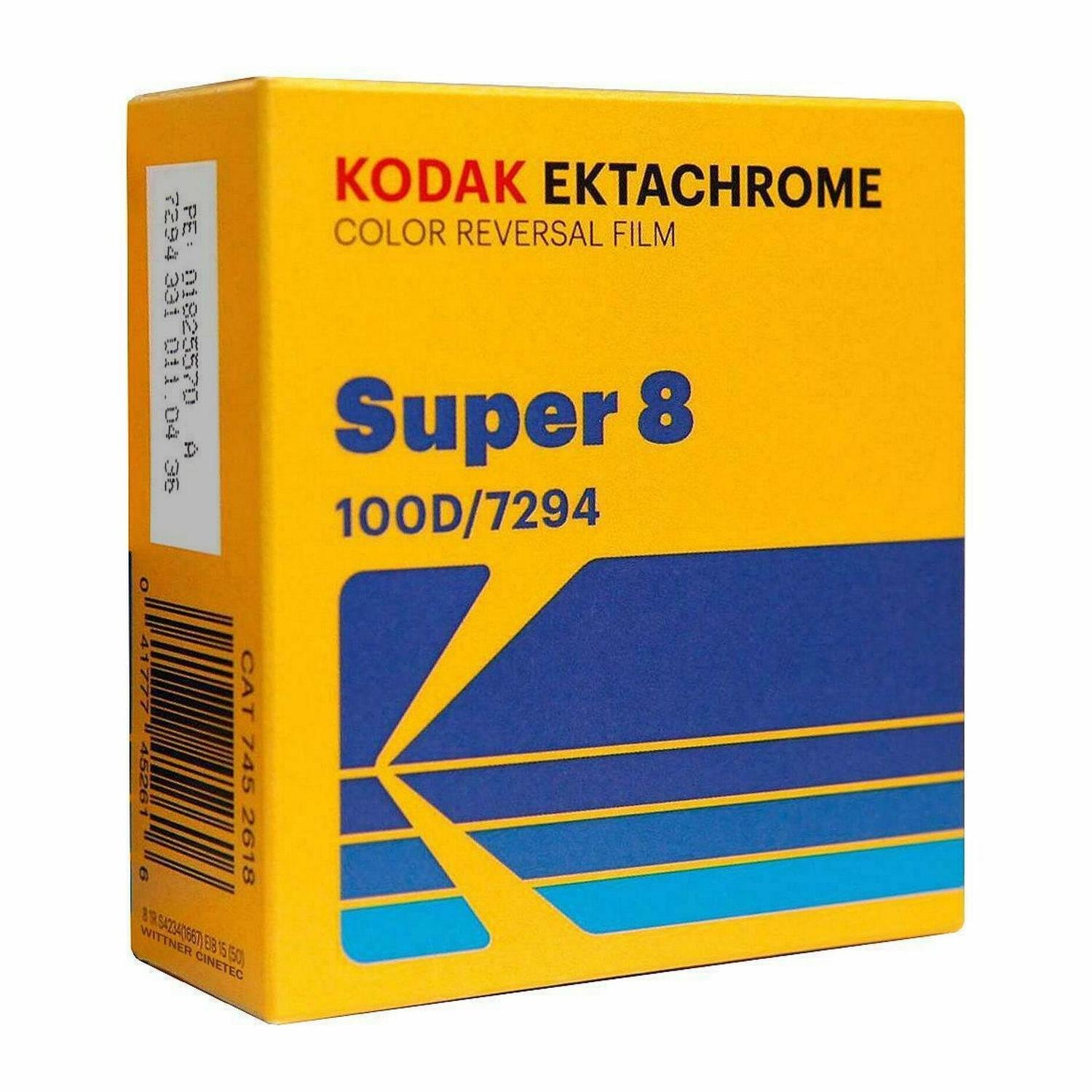KODAK EKTACHROME 100D Color Reversal Film - Super 8