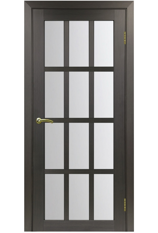 """Дверь эко-шпон Оптима Порте """"542"""" остекленная"""