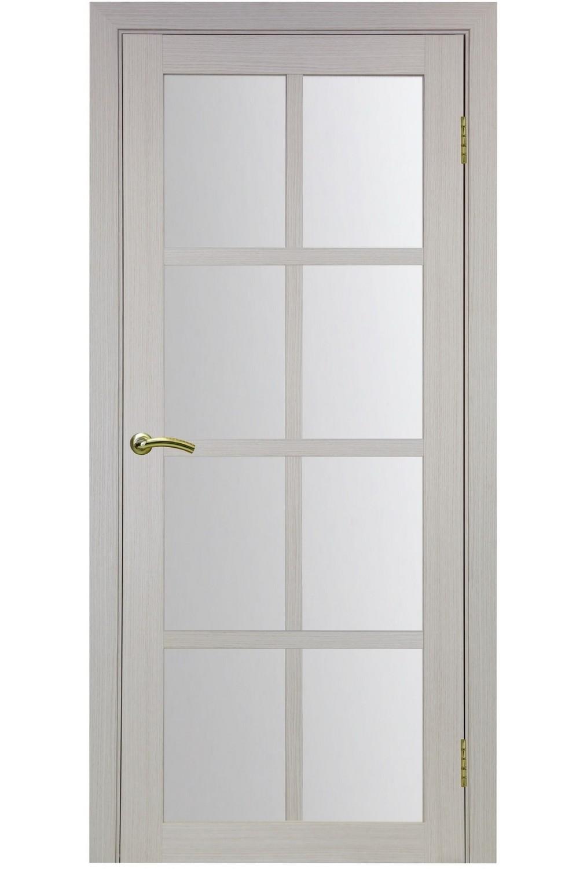 """Дверь эко-шпон Оптима Порте """"541"""" остекленная"""
