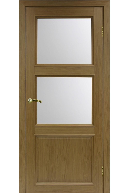"""Дверь эко-шпон Оптима Порте """"630.221"""" остекленная"""