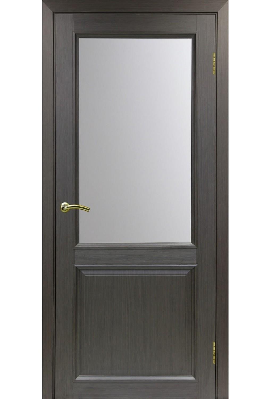 """Дверь эко-шпон Оптима Порте """"602"""" остекленная"""