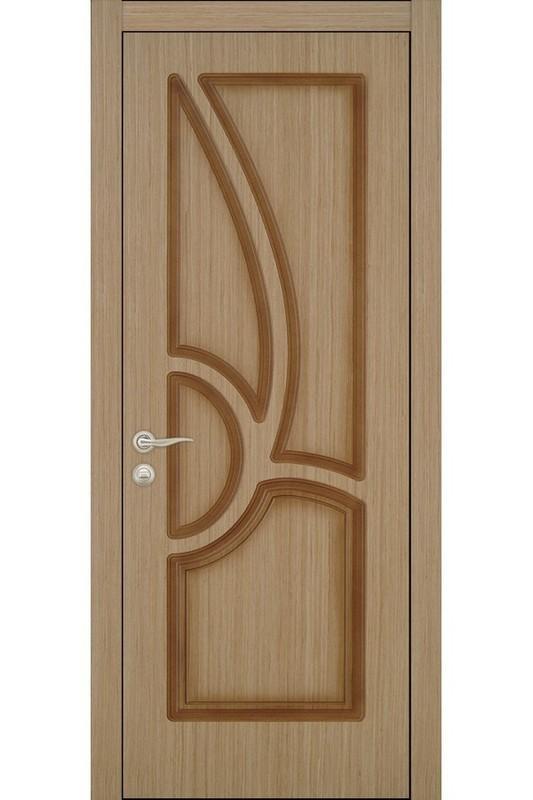 Дверь глухая шпонированная