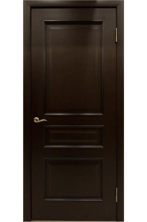 """Дверь массив шпонированный """"КАЛИНА"""" венге, """"АМК"""""""