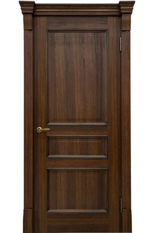 Дверь глухая массив шпон