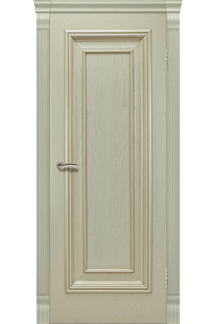 """Дверь массив шпон """"Венера-1"""" слоновая кость, Эллада"""