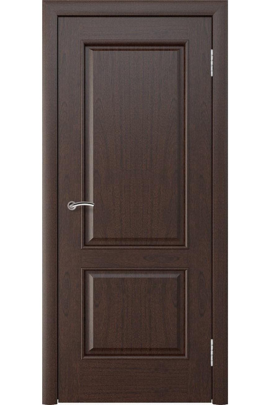 """Дверь массив шпон """"Мира"""" красное дерево, Эллада"""