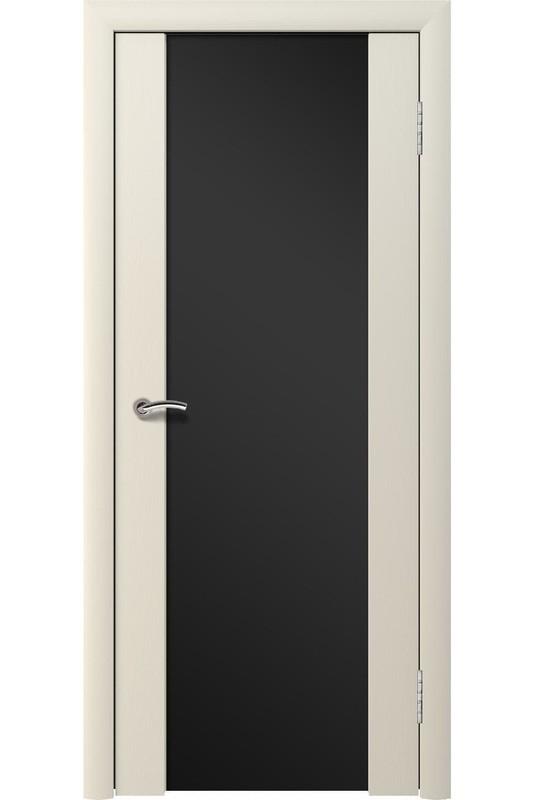 Дверь остекленная массив шпон