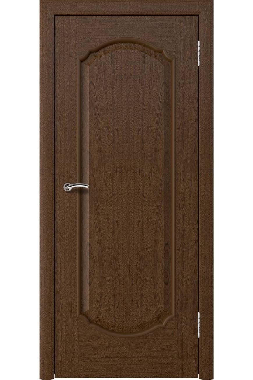 "Дверь массив шпон ""Афина 2"" сапель тон 2, Эллада"