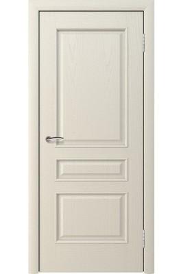 Дверь глухая массив шпонированный