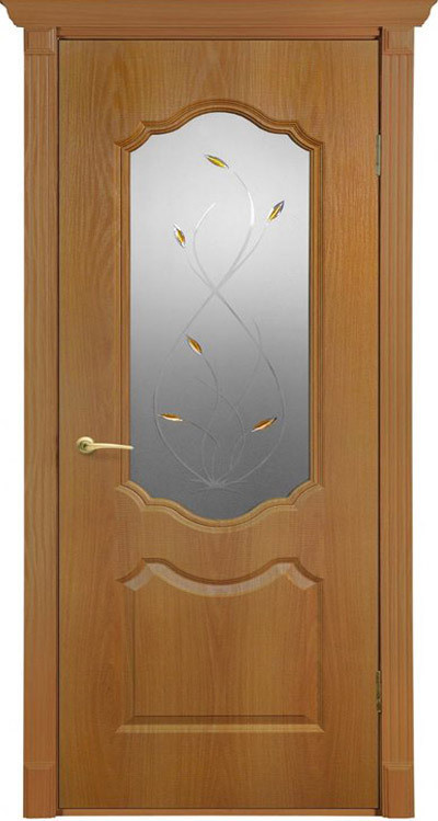 """Дверь ПВХ """"Мечта"""" остекленная, Терри"""