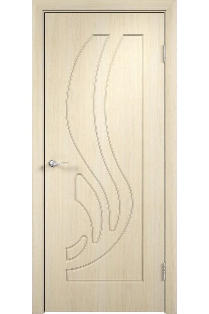 """Дверь ПВХ """"Лиана"""" беленый дуб, Мариам"""