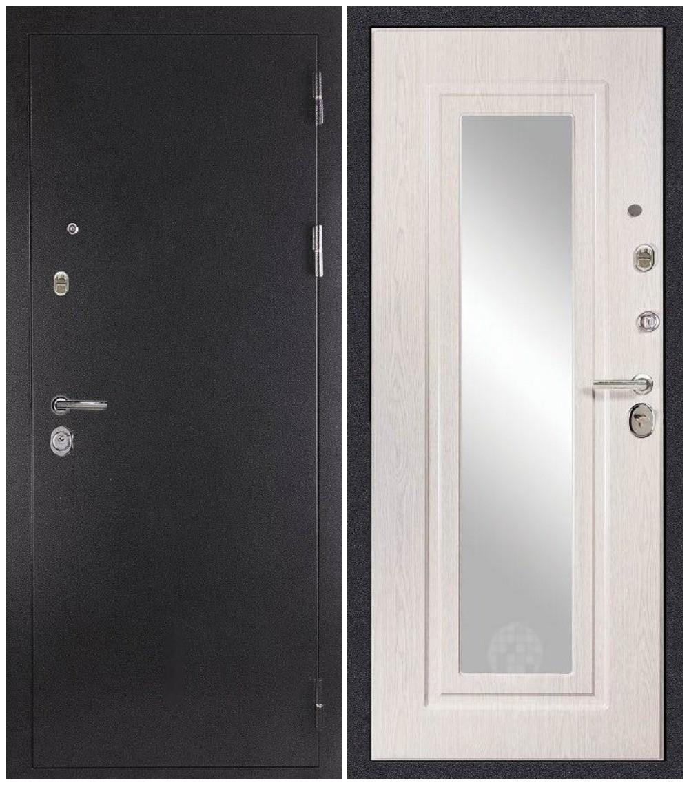 """Дверь входная Дива """"МД 26"""" зеркало, Сударь"""