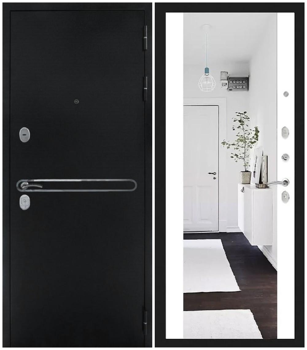 """Дверь входная Дива """"МД 28"""" зеркало, Сударь"""
