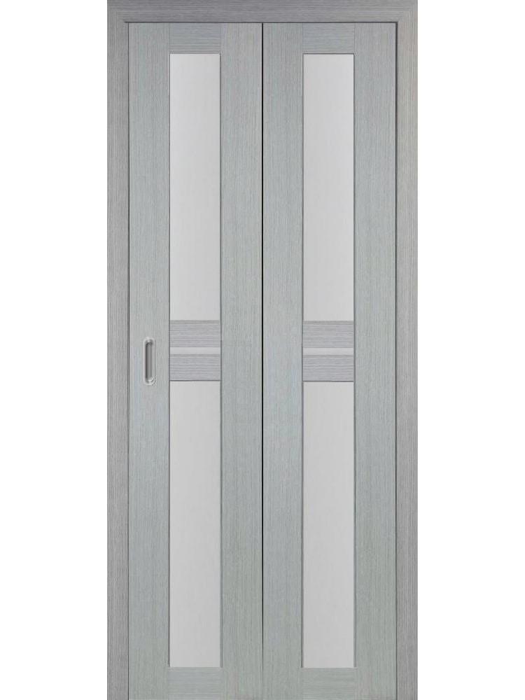"""Дверь-книжка """"Оптима Порте 520.222"""" остекленная"""