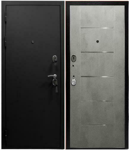 """Дверь входная """"К5 Молдинг"""", БЕТОН, ЮДМ"""
