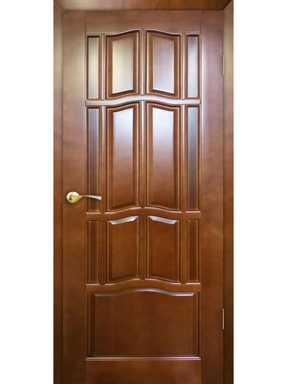 """Дверь массив крашенный """"Ампир"""" глухая, Ветлуга"""