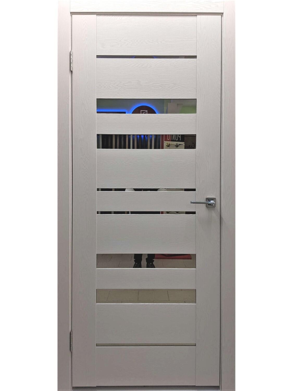 "Дверь Экошпон soft touch ""6Z"", Шлягер"