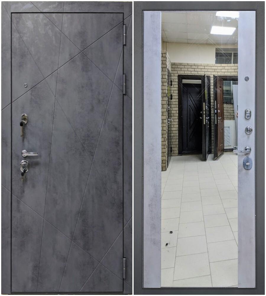 """Дверь входная """"ТРИНИТИ"""", ЗЕРКАЛО, ЮДМ"""
