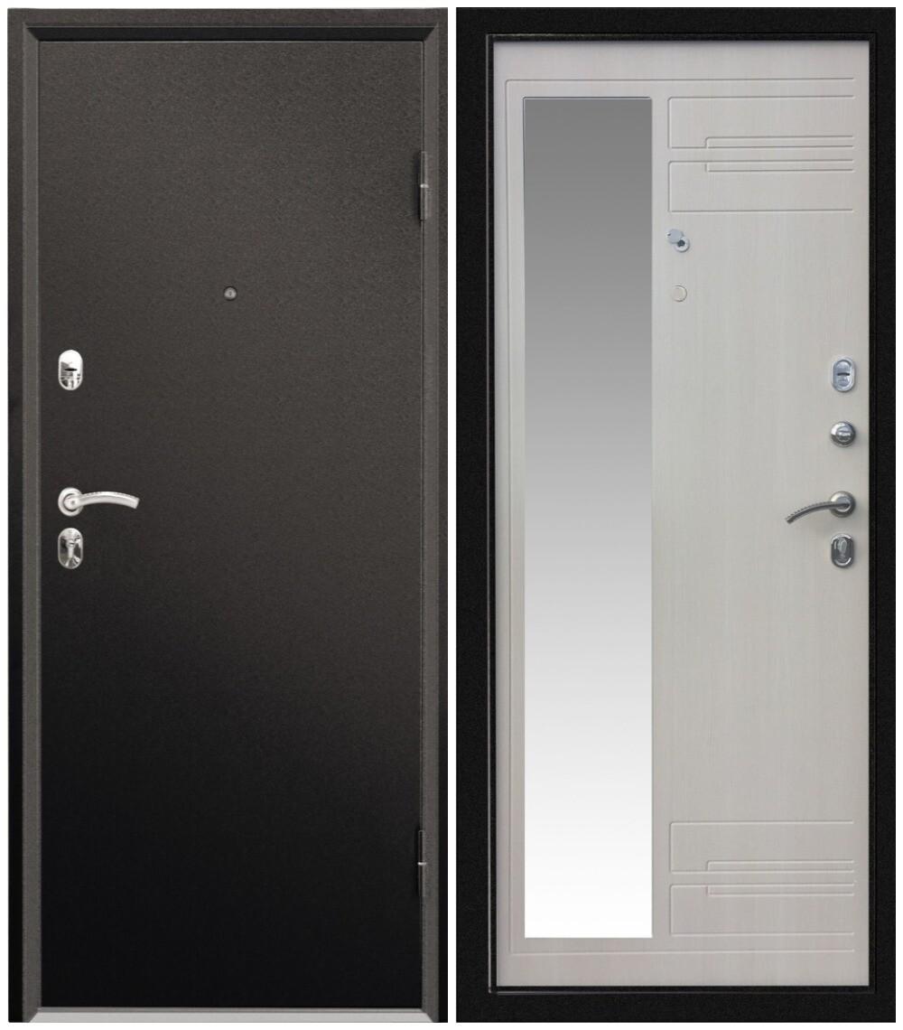 """Дверь входная """"Форте Нео"""", зеркало, Valberg"""