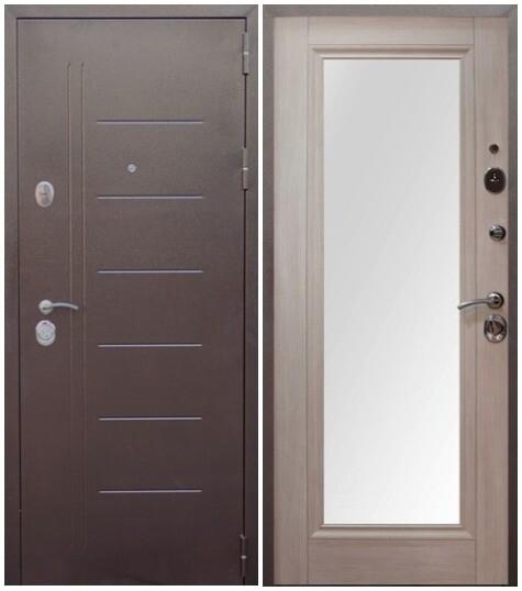 """Дверь входная """"ВИТЯЗЬ"""" зеркало, ВДК"""