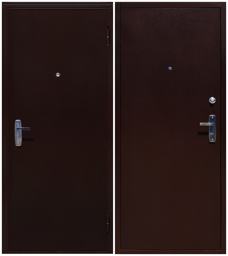"Дверь входная металл-металл ""АМД"", Chenfeng"